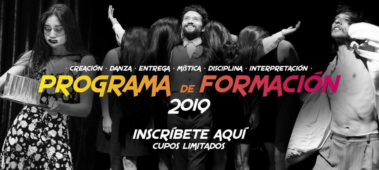 Formulario de inscripción – Formación 2019 –II